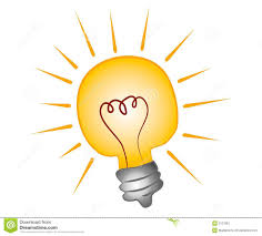 light bulb clipart graphic pencil and in color light bulb