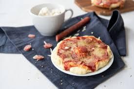 mini pizza aus der tasse