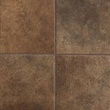 Floor Dark Brown Tile Idea On Your Home