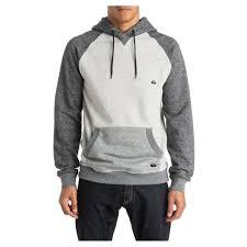 quiksilver rio negro hoodie light grey heather