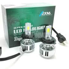 2018 36w 3300lm h4 car led headlights cob car led headlight car