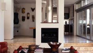 middle of the room fireplace ideas homesteady