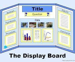 Science Fair Board Good For Any Kind Of Presentation