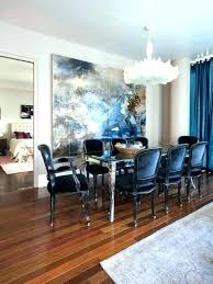 Navy Dining Room Chairs Brilliant Blue Home Design Pertaining To 9 Chair Covers