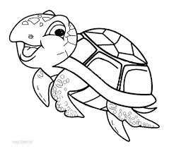 Children Sea Turtle Coloring Pages Fresh In Exterior Online An Attribute Of 9 Photograph