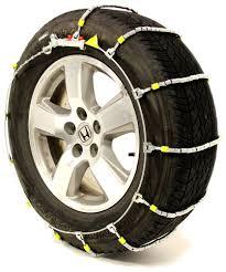 Glacier Cable Snow Tire Chains - 1 Pair Glacier Tire Chains PW2029C