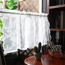 qydf kurze badezimmer fenstervorhang küche halber vorhang
