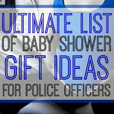Super Cute Police Themed Baby Gifts For SoonToBe LEO