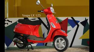 New Vespa LX 125 Red Bs4 Model 2017 Walkaround And Review Should You Buy In