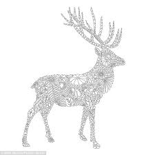 This Image Of Striking Stag Was Created By The Welsh Designer Out Detailed Fauna Line
