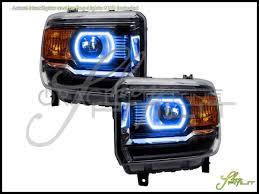 oracle 14 17 gmc sq w pro plasma halo rings headlights bulbs