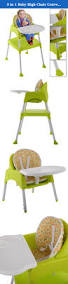 Oxo Tot Seedling High Chair by 3 In 1 Baby High Chair Convertible Table Seat Booster Toddler