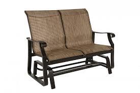 Patio Furniture Loveseat Glider by Paddy O U0027 Furniture Loveseat Glider