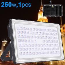 250w led flood light outdoor landscape lighting warm white