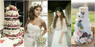 Inspirational Wedding Dresses And Rustic Cakes Ideas1
