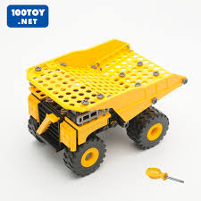 100 Cat Truck Toys USD 8161 CAT Intermediate Nut Disassembly Toy Truck Truck Screw
