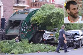 100 Garbage Trucks In Action Drunk Garbage Truck Driver Plowed Through Cars Cops
