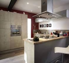 hotte de cuisine centrale e de cuisine centrale ilotaspirante galerie avec cuisine ilot