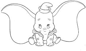 15 Dessins De Coloriage Dumbo à Imprimer