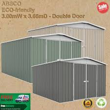 Shed Anchor Kit Bunnings by Affordable Absco Eco Regent Garden Shed 3mw X 3 66md X 2 06mh