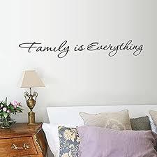 weaeo familie ist alles wandaufkleber englisch zitate für