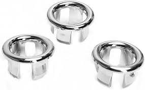 3pcs waschbecken überlauf abdeckung ring überlaufabdeckung bad accessoires