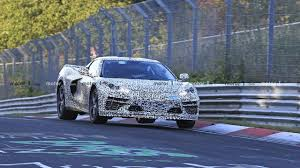 100 Mid Engine Truck See D Corvette Up Close On This Spy Video