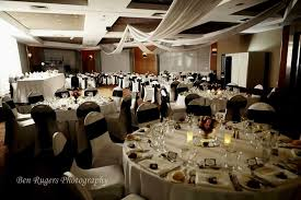 Photo 3 Of 8 Black Gold White Wedding Decorations Ordinary