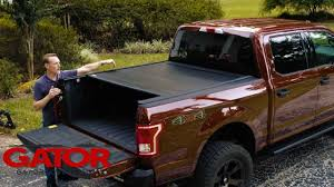 gator recoil retractable tonneau cover product review youtube