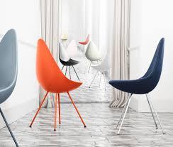 esszimmer mit drop stuhl und analog tisch design möbel
