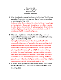 Fahrenheit 452_part 3_Questions_107_158 Charolais Essay Scholarship Best Custom Research Paper Site Topics Sample Resume Waitstaff Apocalypse Now Questions Social Best 25 Essay Ideas On Pinterest College Teaching And Discussion Guide For Guardians Of Gahoole By Kathryn Outlines Barn Burning Introduction To Fiction Engl 2370 Crn 28119 Spring Semester 2016 Questions Alex Bove Paying Essays Online Mla Citations Critical Popular