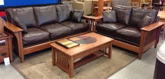 Sofa Leather Portland Oak Furniture WarehouseOak