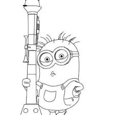 Despicable Me Minions Coloring Pages To Print For Kids