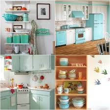 Kitchen Styles Retro Cooker Vintage Style Cabinets Decorating Ideas 1950s Top 7