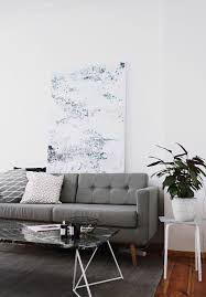interior minimalistic living room with home24 and a lot of