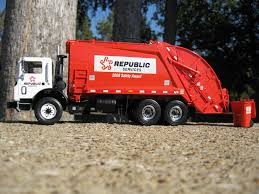 100 First Gear Garbage Truck Republic Services Rear Load Garbage Truck Repub Flickr