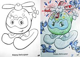 Funny Children Coloring Book Corruptions 26
