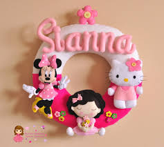 Minnie Mouse Bedroom Decor South Africa by Baby Nursery Name Wall Decor Hello Kitty And Minnie Mouse