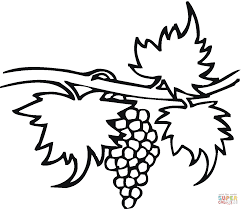 Click The Grape 22 Coloring Pages
