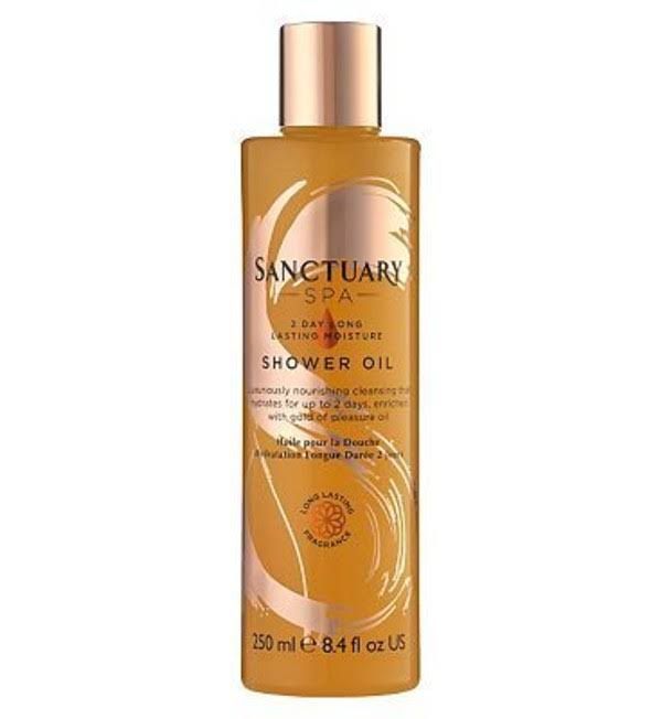 Sanctuary Spa 2 Day Long Lasting Moisture Shower Oil - 250ml