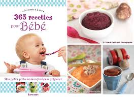 un livre 365 recettes pour bébé à gagner cuisine de bébé