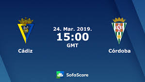 Cádiz Córdoba Live Score Video Stream And H2H Results SofaScore