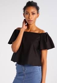 Miss Selfridge Blouse Black Women Classic Fashion Trendlatest TrendsOnline