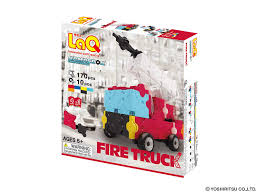 100 Model Fire Truck Kits Amazoncom LaQ Hamacron Constructor 4 Toy Building