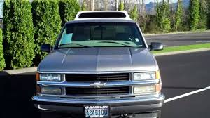 100 1998 Chevy Truck For Sale SOLD Chevrolet Silverado 1500 Regular Cab Pewter 4X Art Gamblin