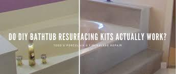 do diy bathtub resurfacing kits really work todd s bathtubs