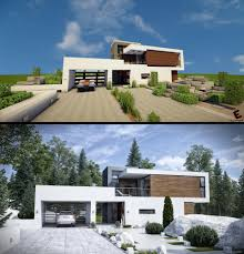 100 Image Of Modern House Copied Minecraft Minecraft