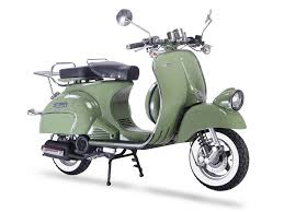 The Chinese Scooters With Retro Mod Style