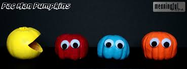 Pac Man Pumpkin Pattern by Pumpkin Decorating Idea For Kids