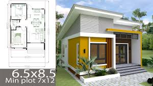 100 Home Designed Small Design Plan 65x85m With 2 Bedrooms